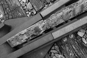 4th Oct 2016 - OCOLOY Day 278: Stone, Steel, Wood...