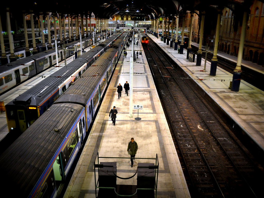 The Train Home by andycoleborn