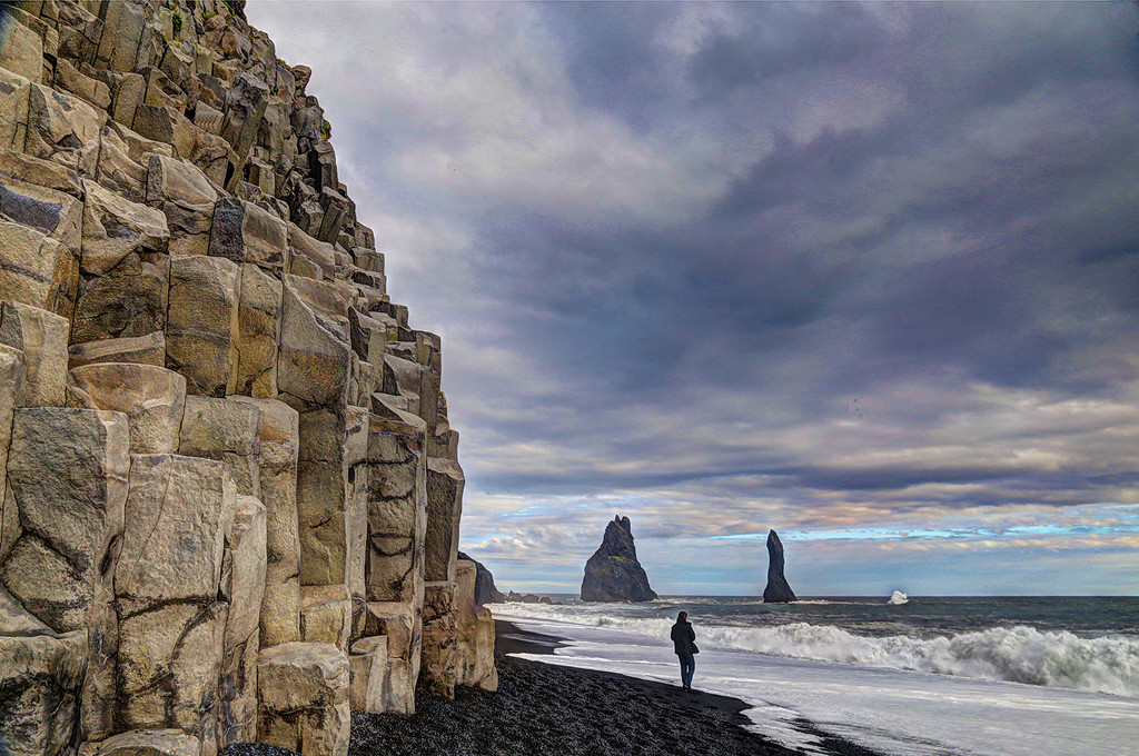 Basalt Columns in Iceland by pdulis