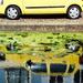 Yellow car by stiggle