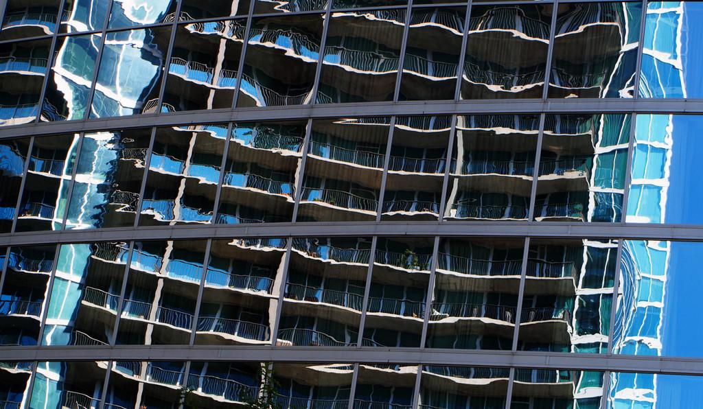 Midtown Atlanta Reflection #2 by fotoblah