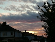 27th Sep 2016 - Evening sky