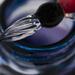 Glass Ink Pen - 💯 😊 days -  Day 17 by bizziebeeme