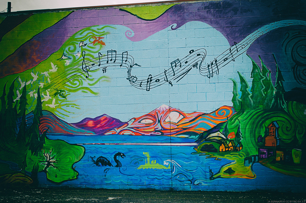 On the Wall by byrdlip
