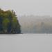 Misty River View