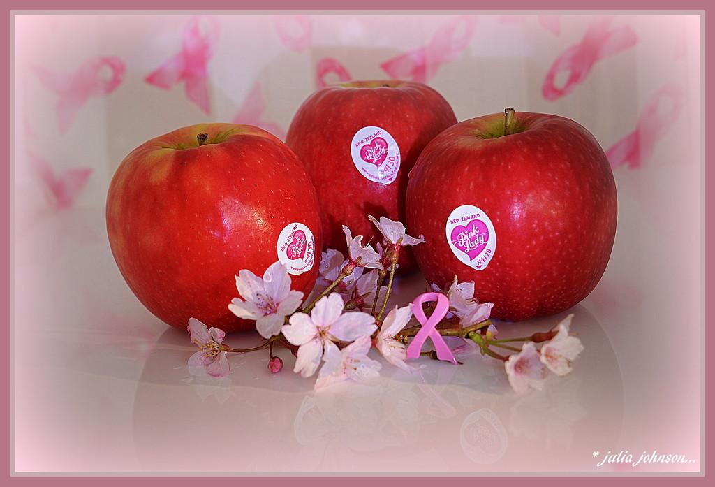 Pink Lady Apples..    Pink Week # 6.. by julzmaioro