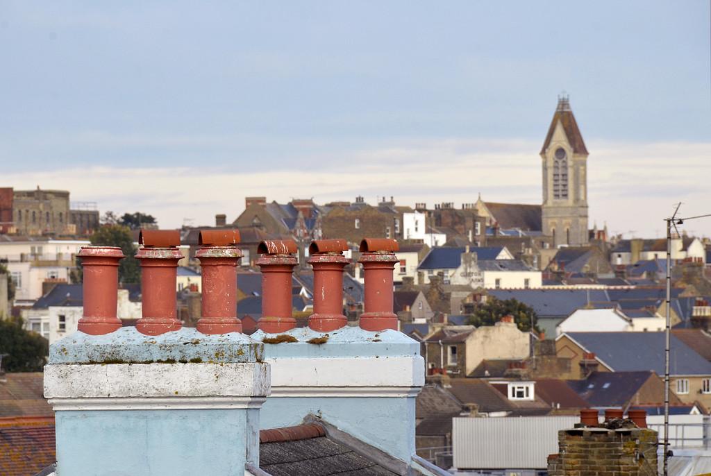 Margate rooftops by pistonbroke