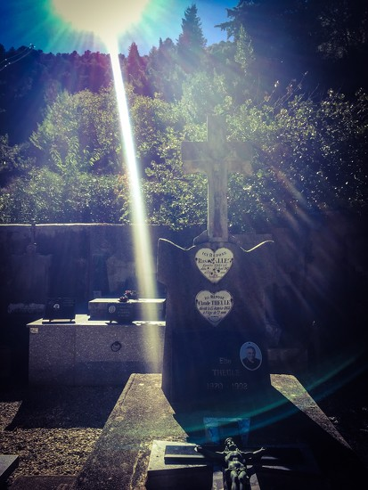 Two hearts in the cemetery.  by cocobella