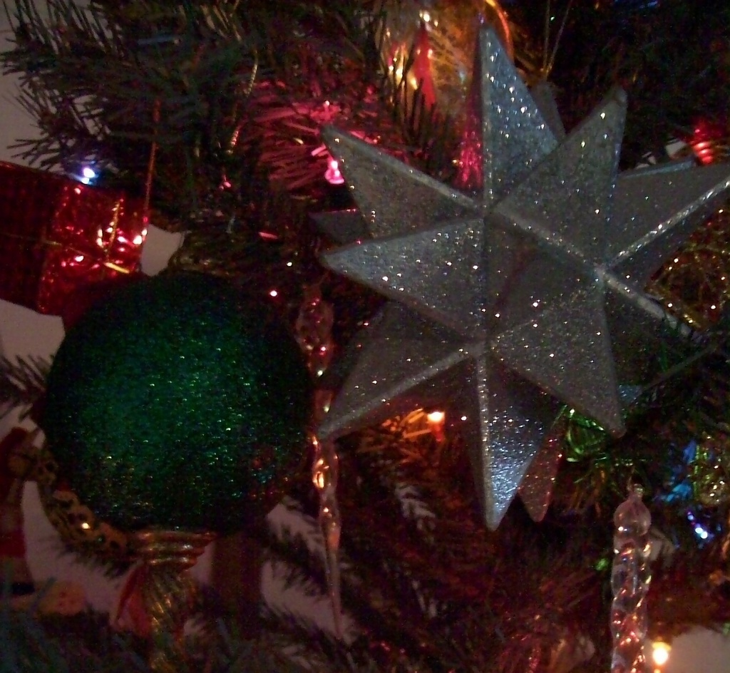Sparkly Ornaments by julie