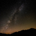 Milky Way Over the Mountains by taffy