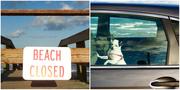 21st Oct 2016 - Beach Closed