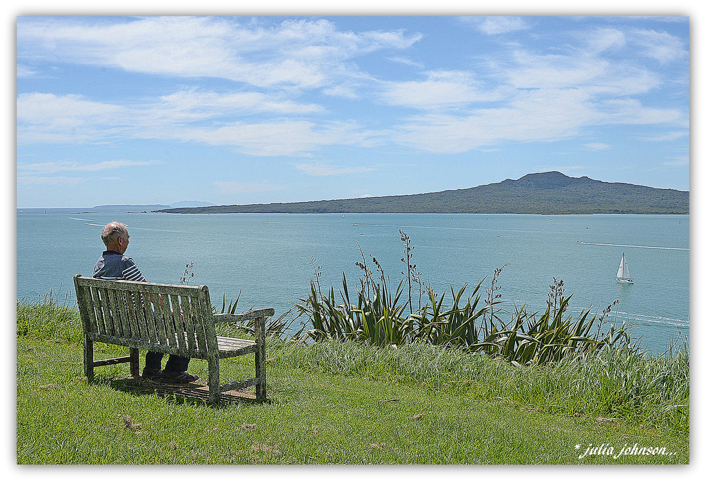 George and rangitoto ... by julzmaioro