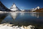 22nd Oct 2016 - 2016-10-22 Matterhorn from Riffelsee