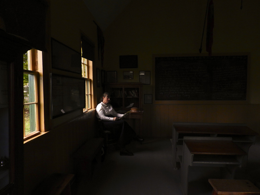 School Day October 9, 1839 by Weezilou