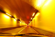 21st Oct 2016 - Zooming through a tunnel