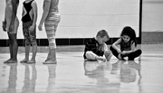 25th Oct 2016 - Paying attention at a Gymnastics class.... sort of :)