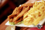 26th Oct 2016 - Bread Chicken Fillet and Fries