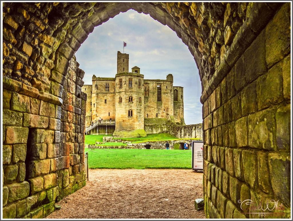 Warkworth Castle From The Portcullis by carolmw