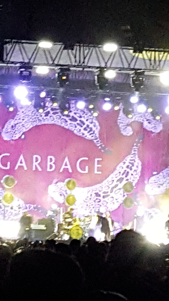 Garbage played at the cemetery by bambilee