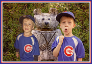 3rd Nov 2016 - What a Fortuitous Year to be a Cubbie on the T-Ball Team!