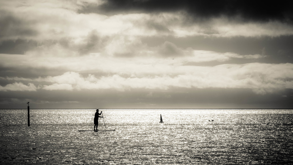 Morning paddle by jodies