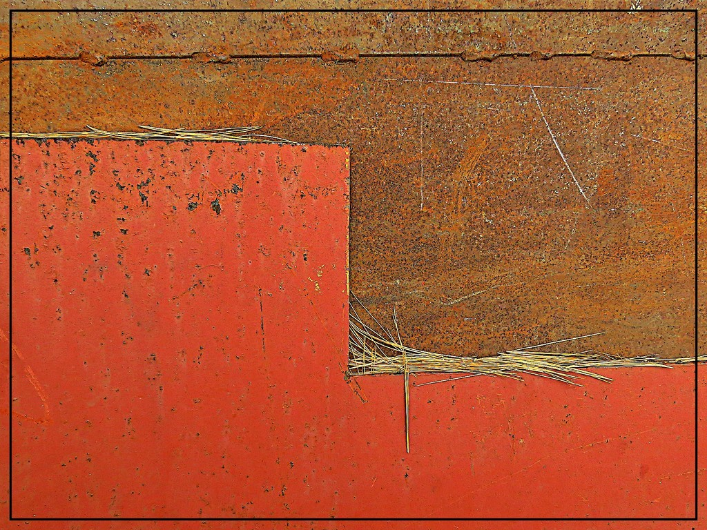 Rust Abstract by olivetreeann