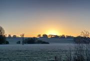 8th Nov 2016 - Frosty Sunrise