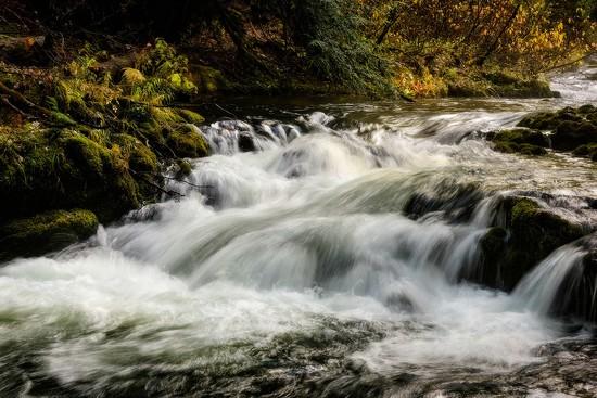 Rushing Water by jgpittenger