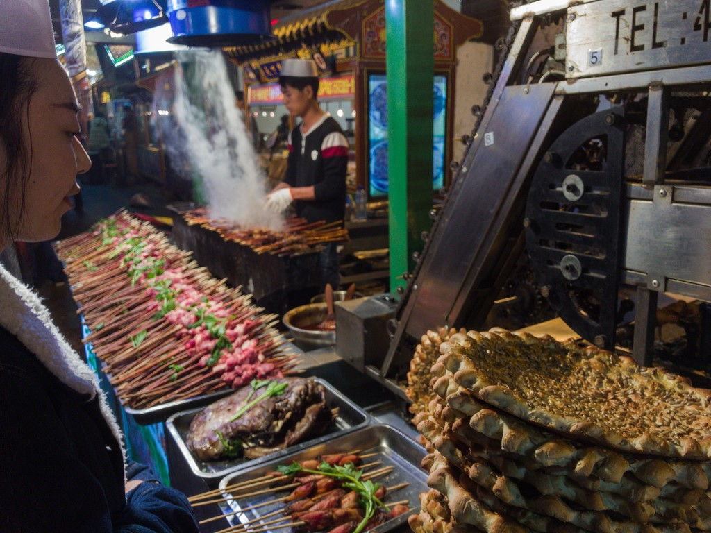Sights from the Night Market by taffy
