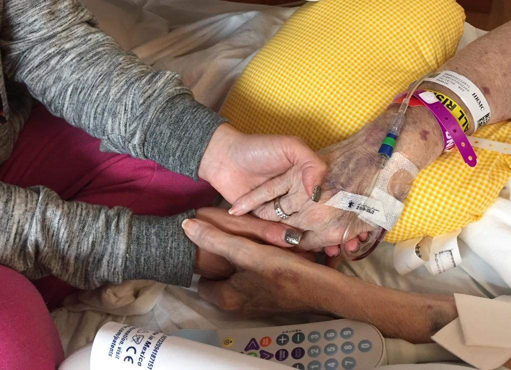 Lauren with Grandma Jo by dridsdale