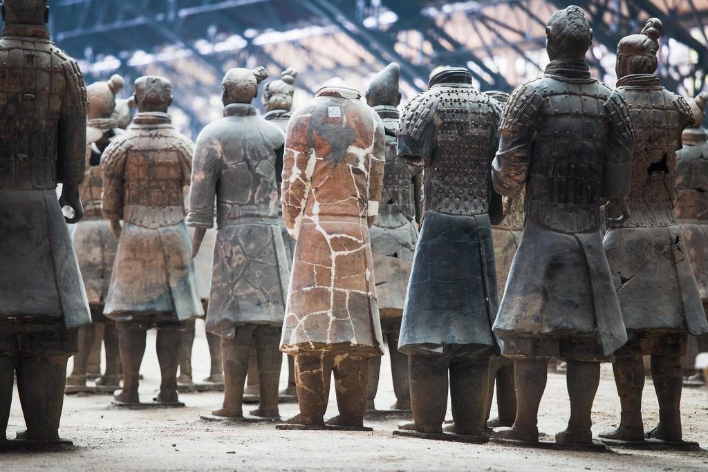 Warriors Being Restored by jyokota