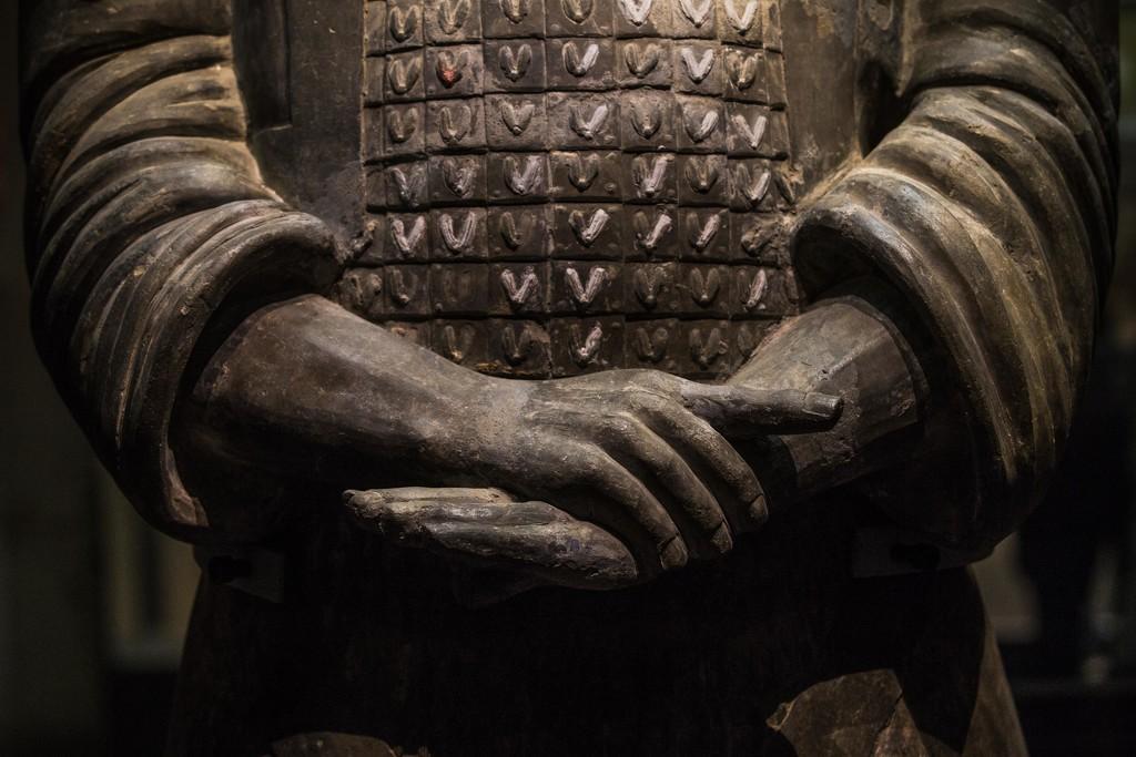 Warrior Hands by jyokota
