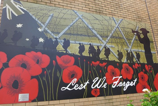 Lest We Forget by leggzy