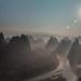 Yonshuo Mountain Sunrise  by jyokota
