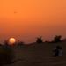 Desert dusk by golftragic