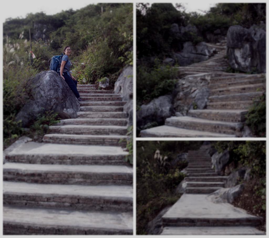 Junko Climbs the Mountain by taffy
