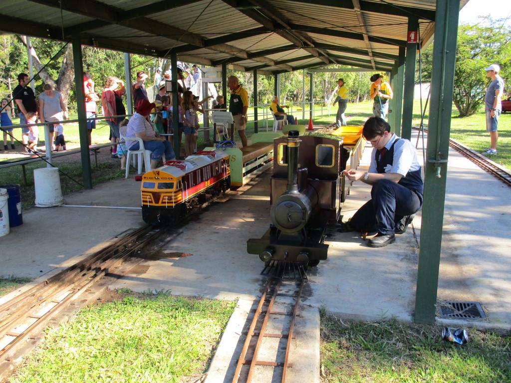 Minature trains  Nambour by 777margo