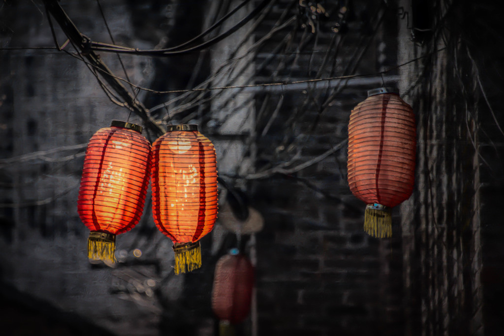 Red Lanterns by taffy