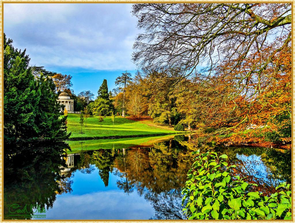 Autumn Reflections, Stowe Gardens by carolmw