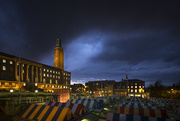 16th Nov 2016 - Day 321, Year 4 - Moody Market Skies