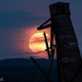 Full Moon and head frame composite by radiogirl