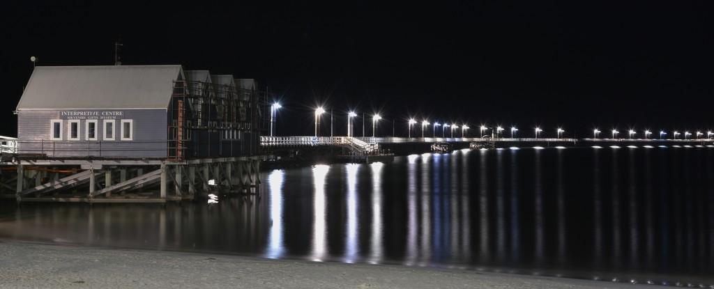 Busselton Jetty At Night_DSC6707 by merrelyn