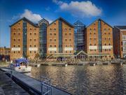23rd Nov 2016 -  Gloucester docks, warehouses
