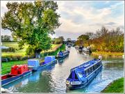 23rd Nov 2016 - The Grand Union Canal, Gayton