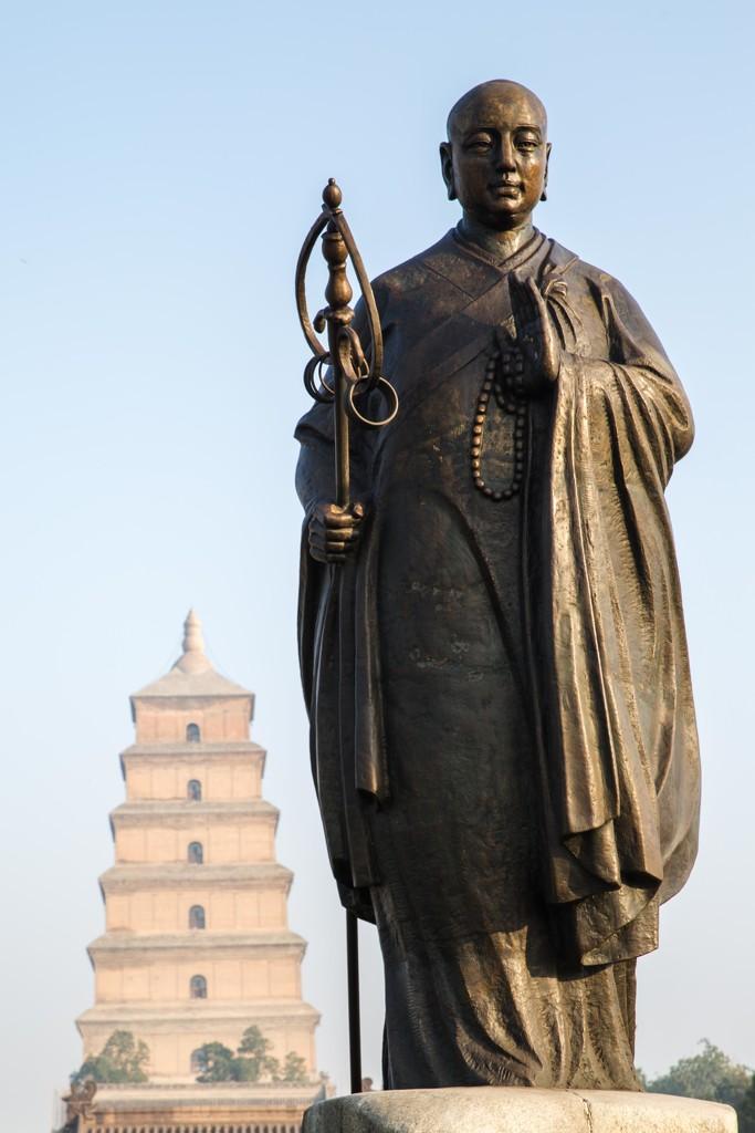 Master Xuanzang by jyokota