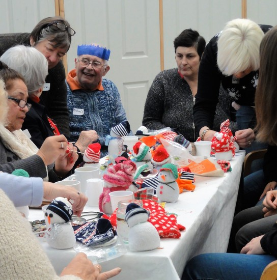 Crafters at Willowdene farm  by beryl
