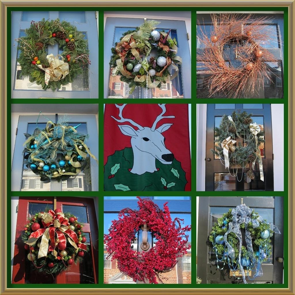 Neighborhood Wreaths by allie912