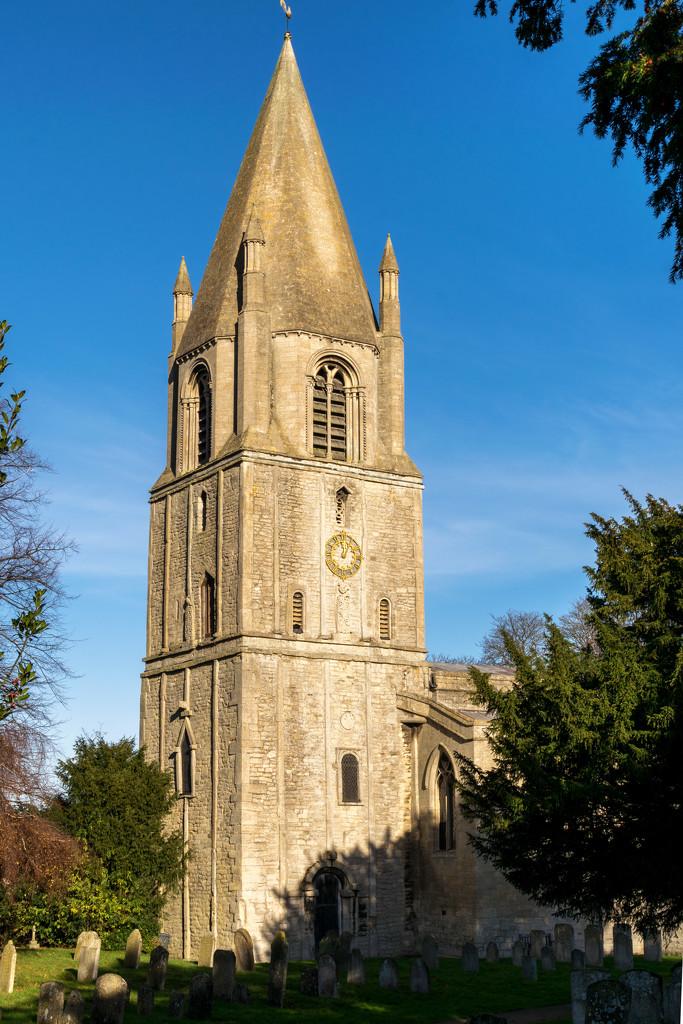 Barnack Church by rjb71