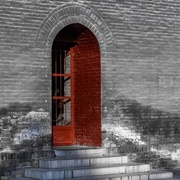 20th Nov 2016 - Red Door at the Bell Tower