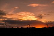 28th Nov 2016 - Sunset Wind farm